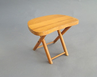 Vintage Nevco Stool, Folding Stool, Camp Stool, Wooden Stool, Kids Seat, Fold'n Carry, Work Stool, Foot stool, Plant stand, Bench