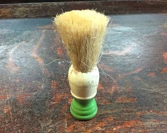 Green Shaving Brush