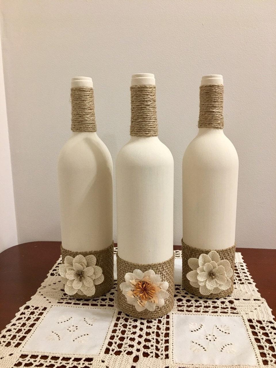 Mesa de vino botella home decor decoraci n r stico hogar for Decoracion hogar rustico