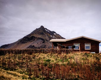 Print - Iceland barn
