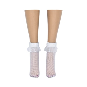 Ellowyne Wilde Doll Socks - White - Anklets - Doll Clothes