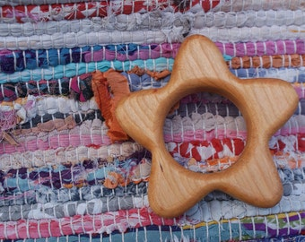 Star Wooden Teether