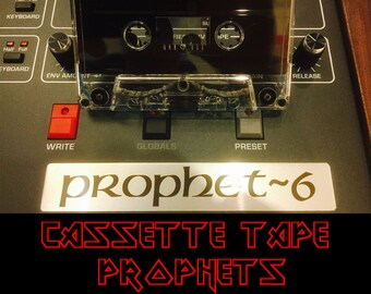 Cassette Tape Prophets Ableton Live Pack |  Instrument | DJ | Synths | Electronic Music | Video Game