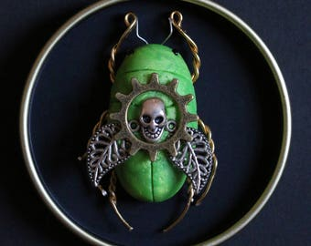Green Meanie Scarab#2
