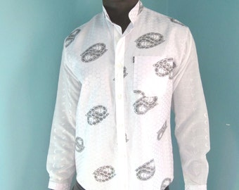 Grooms, Wedding, Best Mens Shirt, Mens Wear, White Indian Style Shirt, Hemd, Camisa