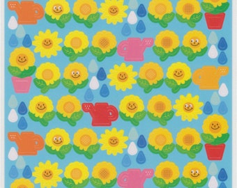 Flower Stickers - Sunflower Stickers - Reference C1792