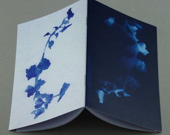 A6 Cyanotype notebook - plain pages