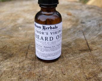 Beard Oil | THOR'S VIKING | Beard Oil Scents, Beard Care Oil, Gifts for Men, Beard Grooming Oil, Beard Care Kit, Beard Conditioner