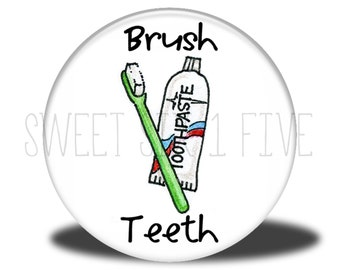 Brush Teeth - Chore Magnet