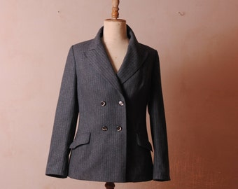 jacket woman man /haute sewing gangsters 1940 French PARIS suit jacket.