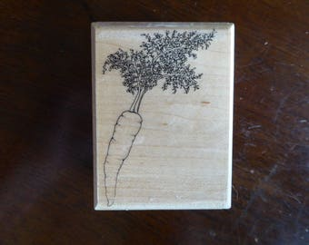 Carrot Rubber Stamp by Mostly Animals (Retired)