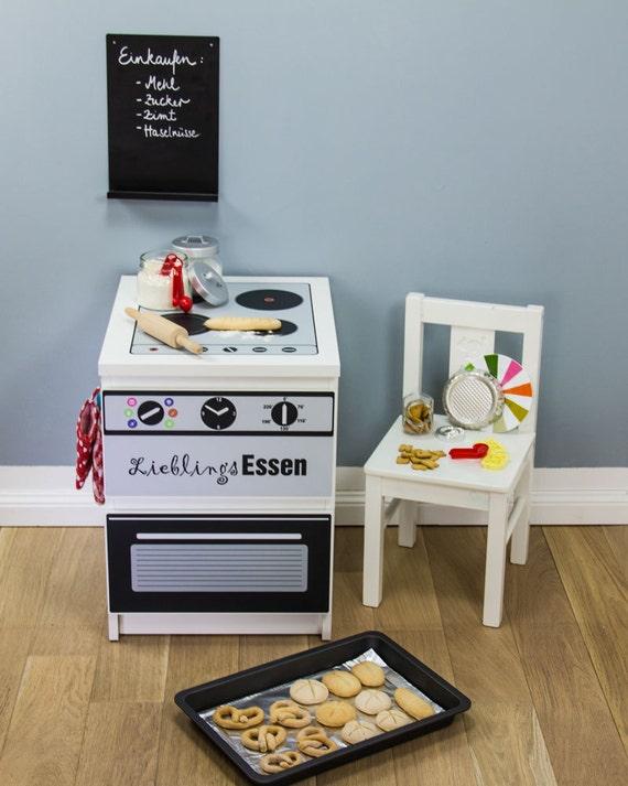 Kinderküche DIY: Möbelfolie für IKEA Malm Kommode Schönes