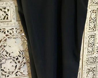 Adjustable mens black tuxedo pants size 42-44, black pants, mens pants, mens slacks