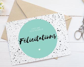 Card - congratulations