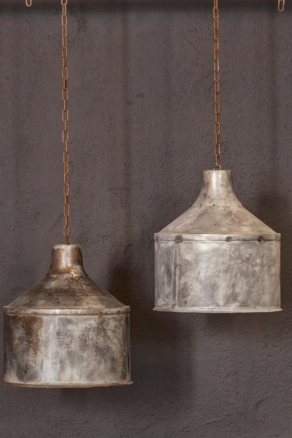 galvanized lighting