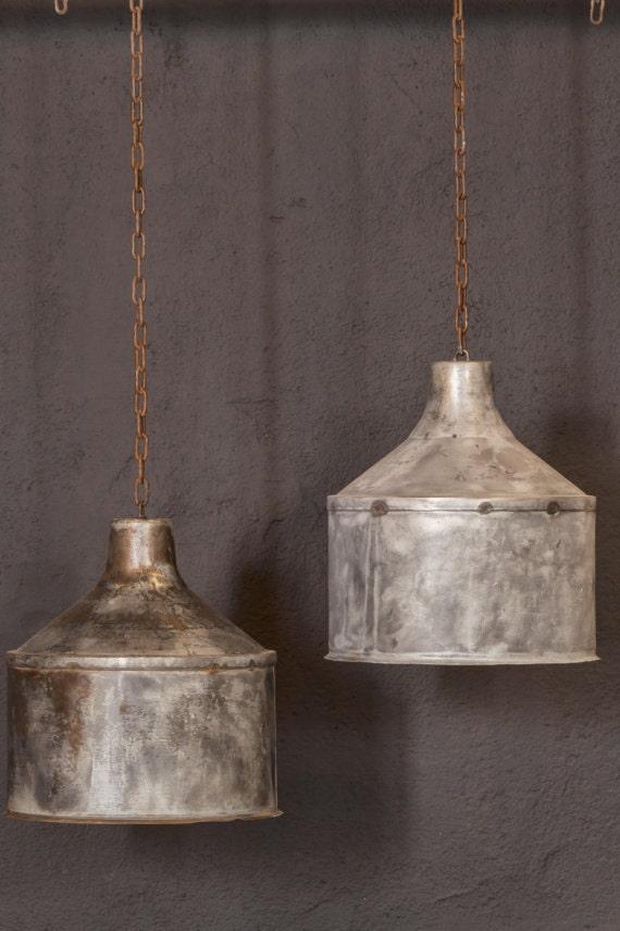 galvanized lighting