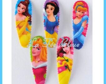 "2 pins/crowbars hair Disney Princess Cinderella beautiful white snow beauty ""Aurora"" sleeping beauty"