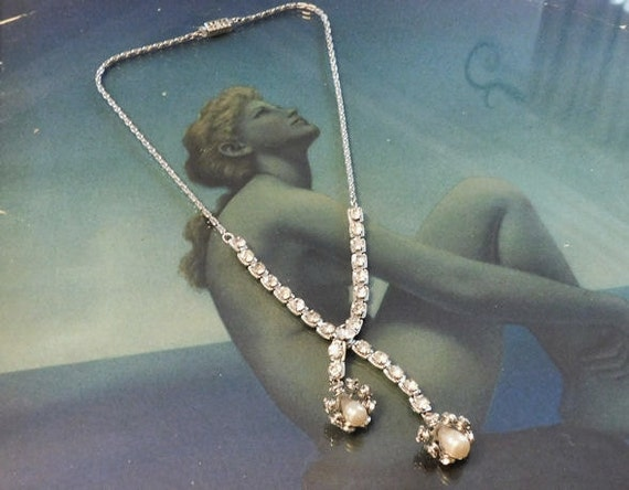 Crystal Necklace / Sautoir / Tassel