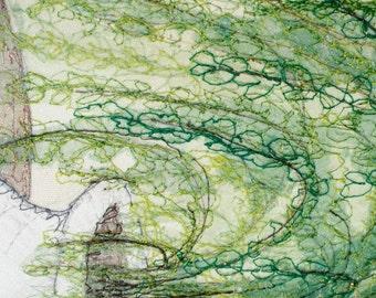 Maidenhair Fern (unframed)