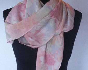 "Vintage pure silk scarf - Loredano - 86 x 86 cm / 33.85 x 33.85""-"