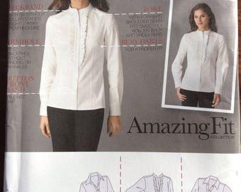 Amazing Fit blouse Simplicity pattern