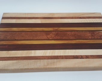 Handmade Exotic Cutting Board *Free Shipping*