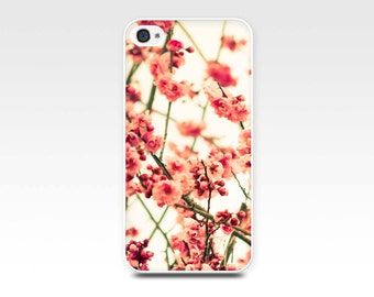 iphone 5s case blossom iphone 6 case vintage floral photography fine art iphone 4s case botanical iphone case 4 flower iphone 5 case pink