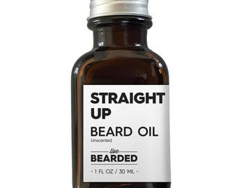 Beard Oil - Straight Up