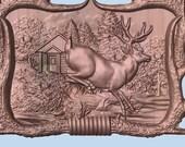 Deer Wood Carving, Wood W...