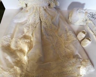 Heirloom Christening Gowns from your Wedding Dress