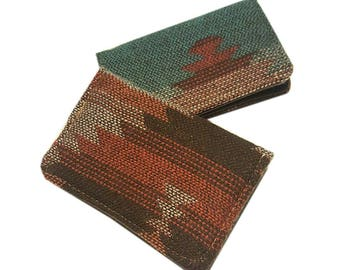 Aztec ) Slim Wallet