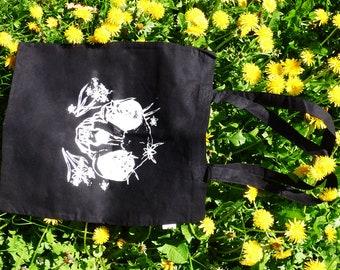 Skull Tote bag Screenprint