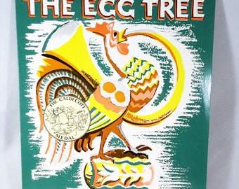 The Egg Tree by Katherine Milhous, Paperback, Free Shipping, 1981, Troll Book MCM Vintage Children's Book