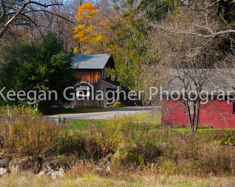 General Store in Autumn