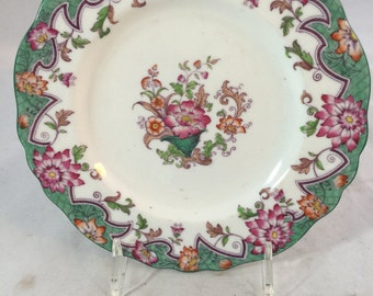 Antique Dessert Plate From England