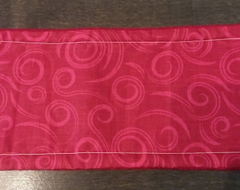 Red Swirl Male Dog Belly Band - XS