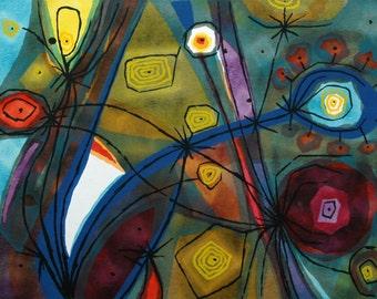 Bernard Steffen-Untitled Serigraph