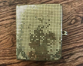 Vintage Gold Mesh Small Wallet - Free shipping!
