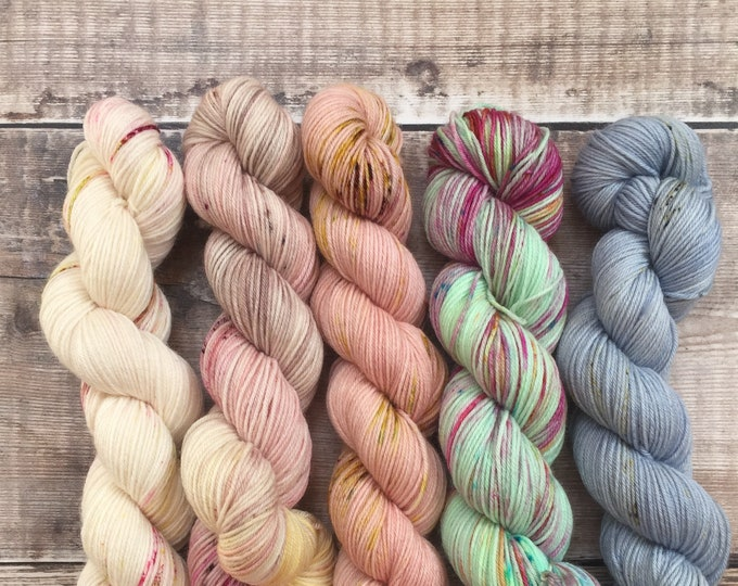 50grams Skeins on Sock - various colours see below for more details