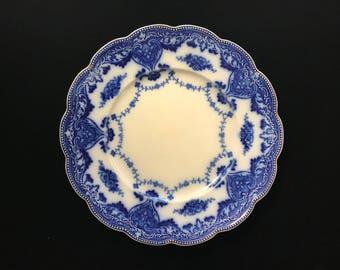 Flow Blue Dish