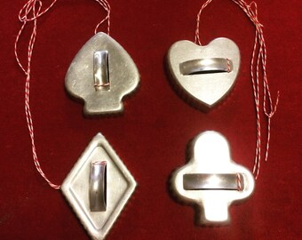 Vintage Deck of Cards Cookie Cutters
