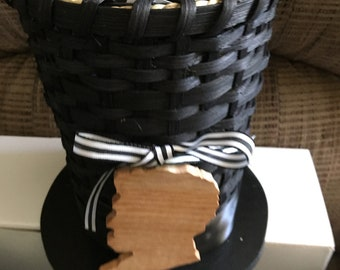 Lincoln Stovepipe Hat Basket