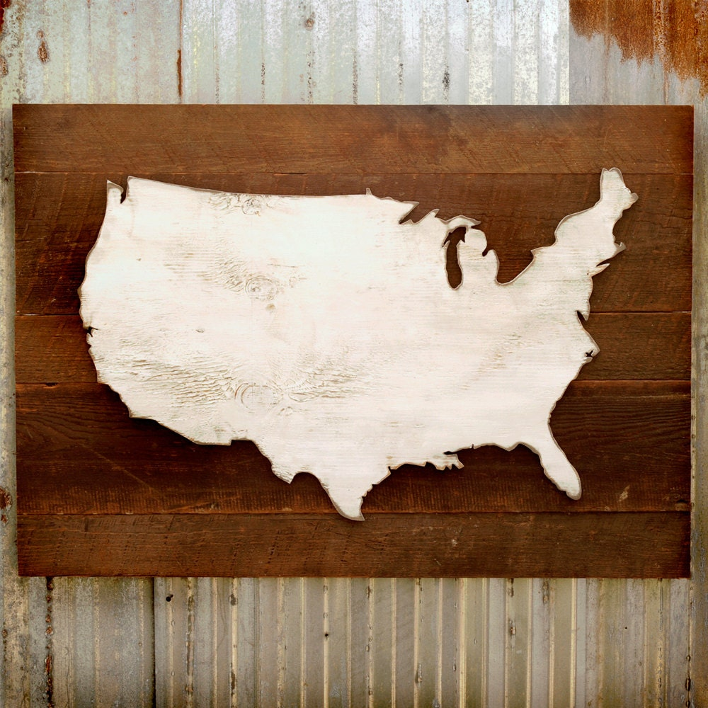 🔎zoom. united states map wooden reclaimed rustic decor us wall map