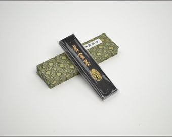 Free Shipping Chinese Calligraphy Material  Hu Kaiwen Tung Oil Soot Ink Stick Ink Block - Hui Mo / SHM - 62g - 0003T