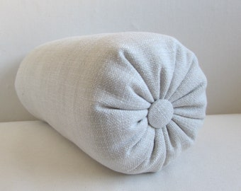 CREAM  accent lumbar throw Bolster Pillow 6x14 6x18 6x18 6x20 6x22