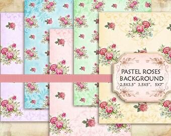 vintage flower paper napkins fast lunchrock co