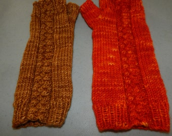 Original Knitting Pattern - Hot Corner Mitts