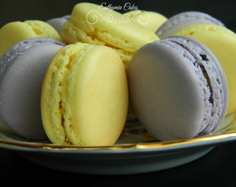 French Macarons Almond Wedding Favours