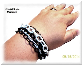 Large Multi-Chain Bracelet by ShopAtLuxe Originals