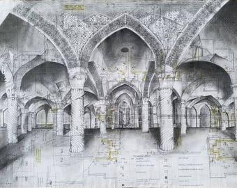 Sunlit Mosque